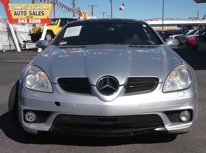 2005 Mercedes-Benz SLK SLK55 AMG 2dr Convertible - Albuquerque NM