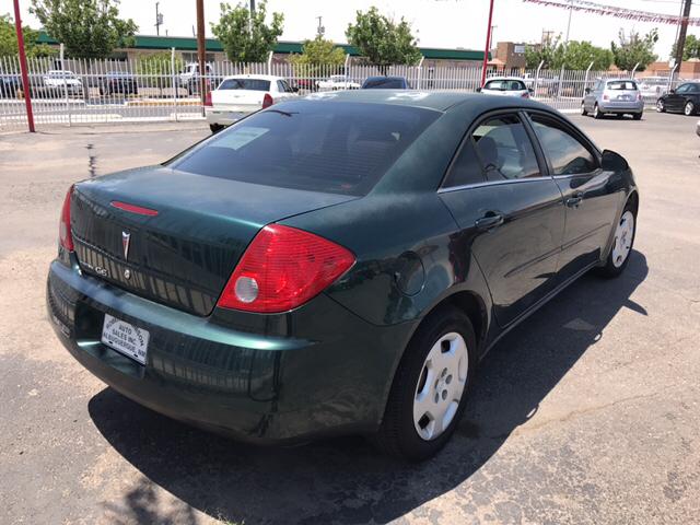 2007 Pontiac G6 Value Leader 4dr Sedan w/1SV - Albuquerque NM