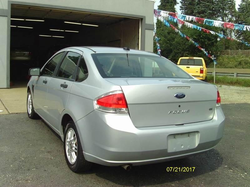 2008 Ford Focus SE 4dr Sedan - Belle Vernon PA