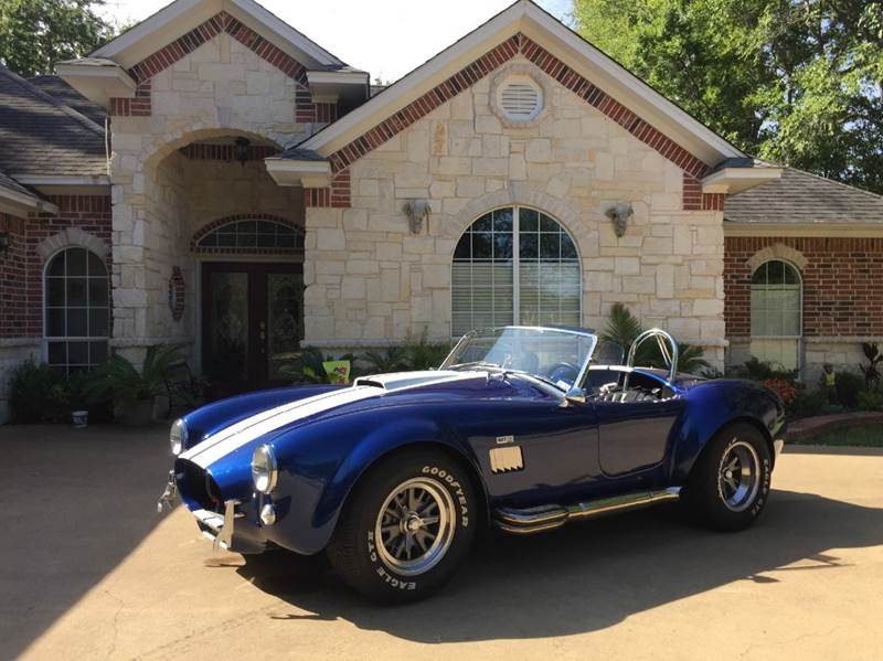 Ford Shelby Gt Cobra Built By Super Palestine Tx