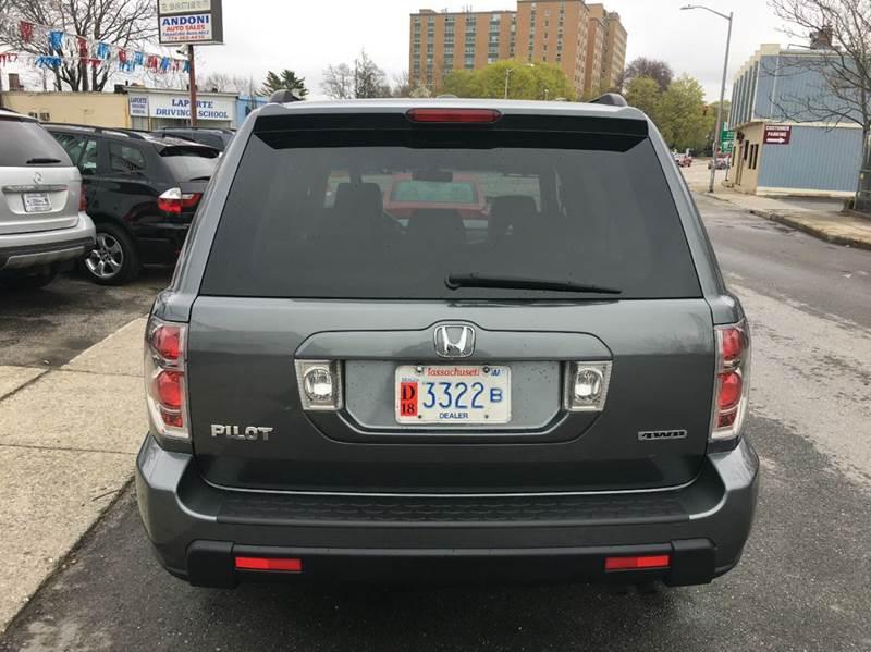 2008 Honda Pilot EX-L w/DVD 4x4 4dr SUV w/DVD - Worcester MA