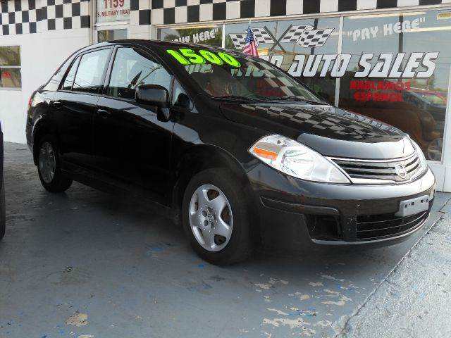 2010 NISSAN VERSA 18 S 4DR SEDAN 4A black please call competition auto at 888-865-0893   have b
