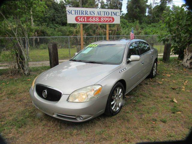 2006 BUICK LUCERNE CXS 4DR SEDAN silver please call schirras auto ii at 866-383-7643  have bad cr