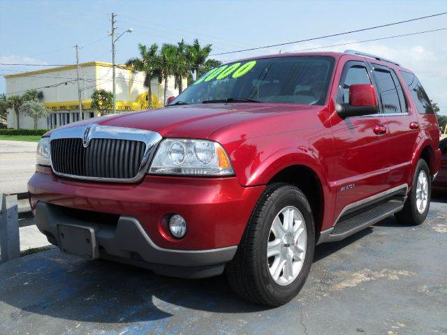 2004 LINCOLN AVIATOR LUXURY 4DR SUV red please call schirras auto at 888-865-0893   have bad cre