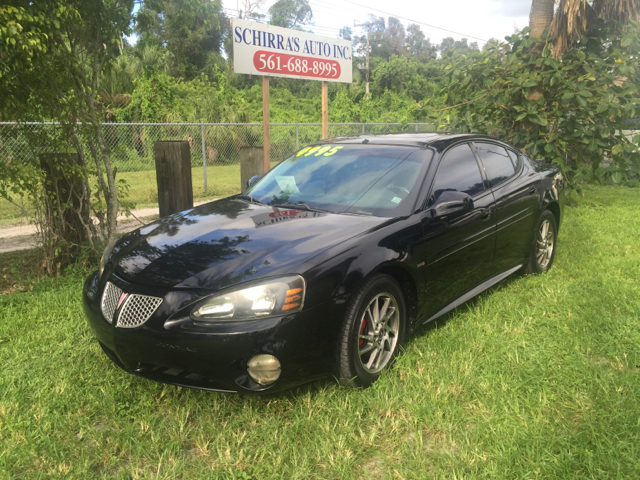 2005 PONTIAC GRAND PRIX GTP 4DR SUPERCHARGED SEDAN black please call schirras auto at 866-383-76