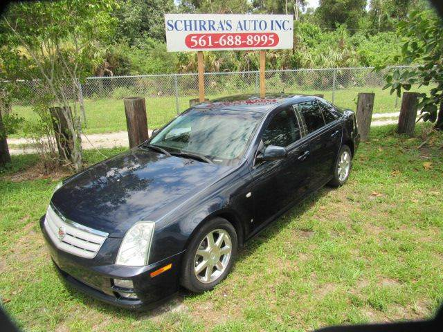 2006 CADILLAC STS V6 4DR SEDAN blue please call schirras auto at 866-383-7643  have bad credit