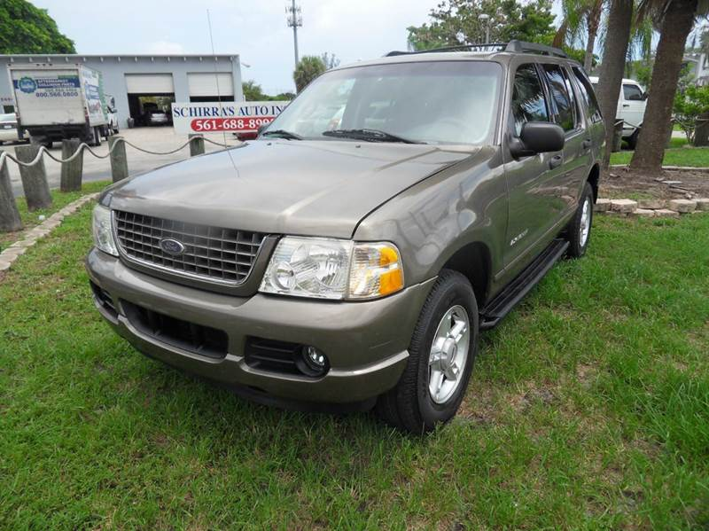 2005 FORD EXPLORER XLT 4DR 4WD SUV brown please call schirras auto sale at 888-865-0893  have b