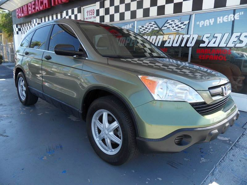 2007 HONDA CR-V LX 4DR SUV green please call competition auto sales at 888-865-0893  have bad cr