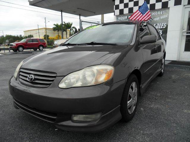 2004 TOYOTA COROLLA S 4DR SEDAN brown please call competition auto at 888-865-0893  have bad cre