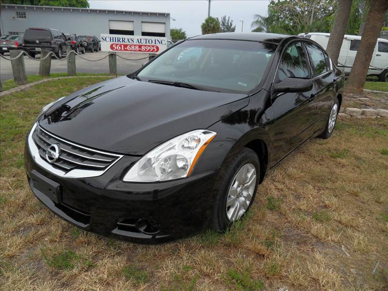 2012 NISSAN ALTIMA 25 S 4DR SEDAN black please call competition auto at 888-865-0893  have bad c