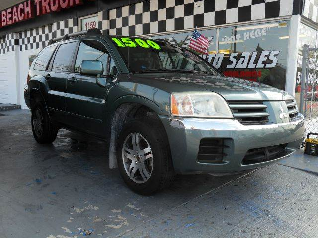 2004 MITSUBISHI ENDEAVOR XLS 4DR SUV green please call schirras auto at 888-865-0893