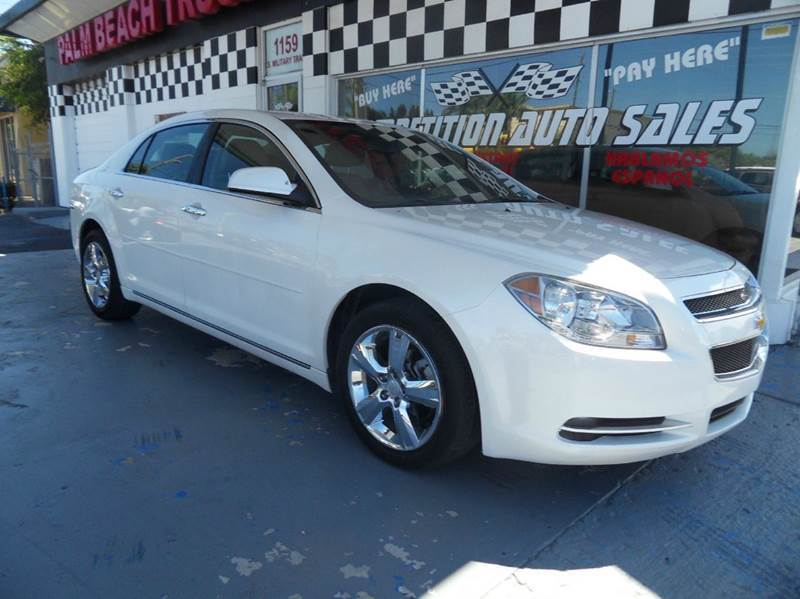 2012 CHEVROLET MALIBU LT 4DR SEDAN W2LT pearl please call competition auto sales at 888-865-0893