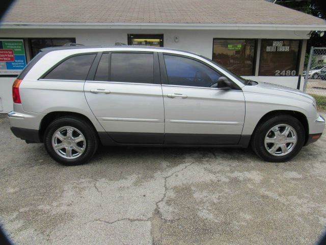 2005 CHRYSLER PACIFICA TOURING 4DR WAGON silver please call schirras auto at 888-865-0893  have