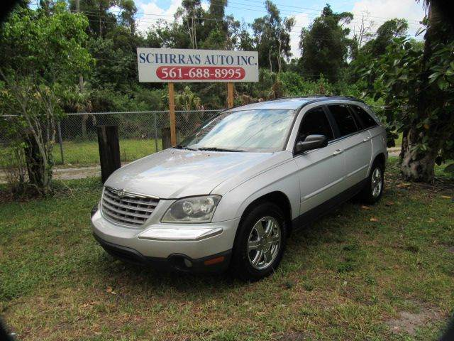 2005 CHRYSLER PACIFICA TOURING 4DR WAGON silver please call schirras auto at 866-383-7643  have