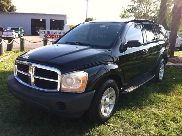 2004 DODGE DURANGO ST 4DR SUV black please call schirras auto at 888-865-0893    have bad credi