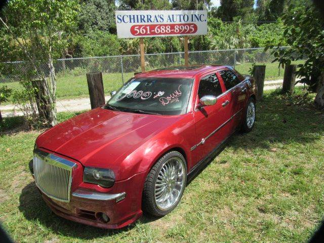2006 CHRYSLER 300 C 4DR SEDAN red please call schirras auto at 866-383-7643  have bad credit ha