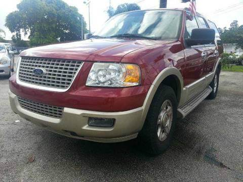 2005 FORD EXPEDITION EDDIE BAUER 4DR SUV red abs - 4-wheel adjustable pedals - power anti-theft