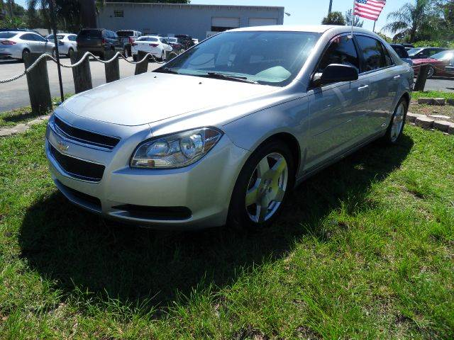 2010 CHEVROLET MALIBU LS 4DR SEDAN silver please call competition auto at 888-865-0893  have bad