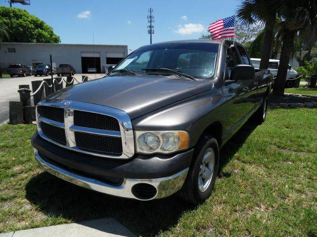 2003 DODGE RAM PICKUP 1500 ST 4DR QUAD CAB RWD LB gray please call less than 6000 at 888-865-089