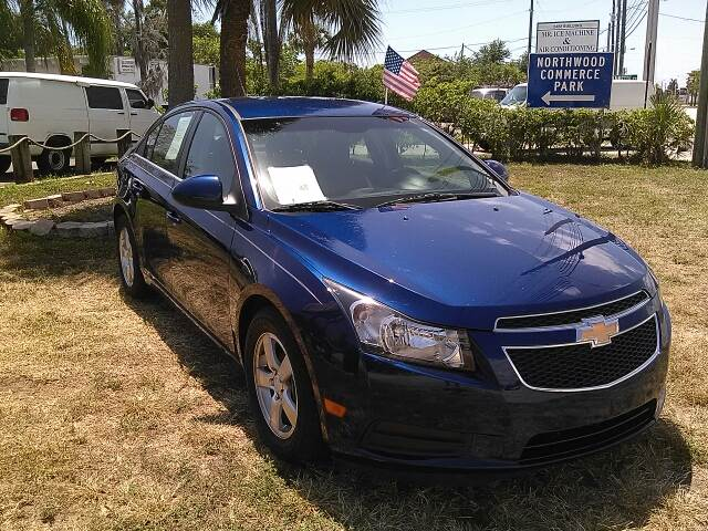 2012 CHEVROLET CRUZE LT 4DR SEDAN W1LT blue please call competition auto at 888-865-0893   have