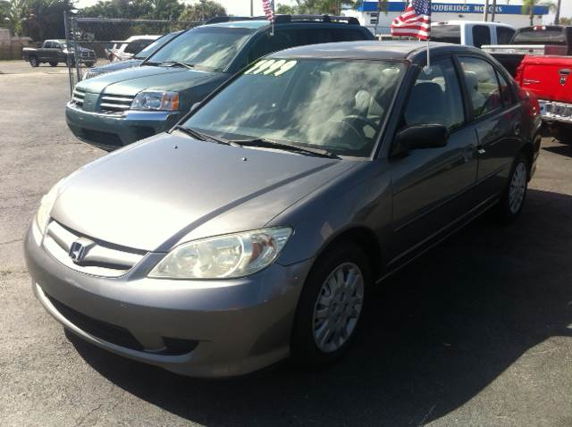 2005 HONDA CIVIC LX 4DR SEDAN WFRONT SIDE AIRBAG grey please call schirras auto at 888-865-0893