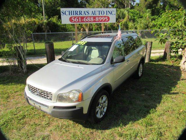 2006 VOLVO XC90 V8 AWD 4DR SUV silver please call schirras auto at 866-383-7643  have bad credi