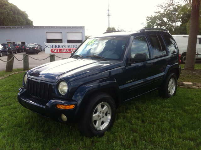 2002 JEEP LIBERTY LIMITED 4DR 2WD SUV blue have bad credit have no credit no problem schirras