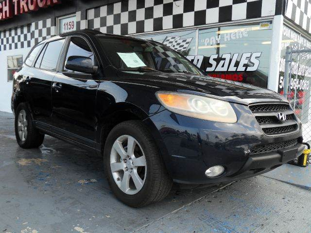 2007 HYUNDAI SANTA FE LIMITED 4DR SUV blue please call schirras auto at 888-865-0893   have bad