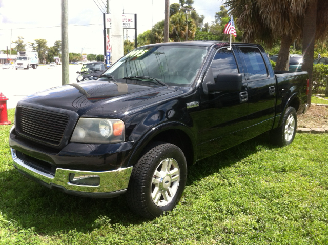 2004 FORD F-150 LARIAT 4DR SUPERCREW RWD STYLESI black abs - 4-wheel adjustable pedals - power