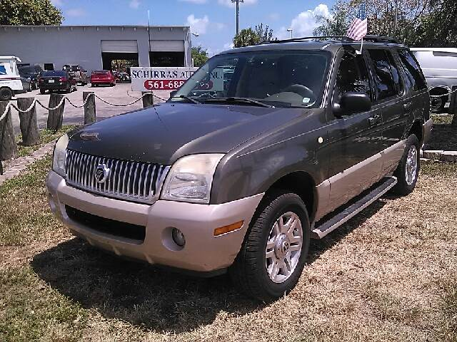 2004 MERCURY MOUNTAINEER BASE AWD 4DR STD SUV green please call competetion auto  888-865-0893