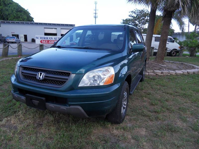 2003 HONDA PILOT EX-L 4DR 4WD SUV W LEATHER green please call less than 6000 at 888-865-0893