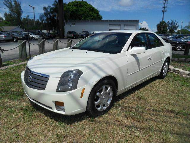 2003 CADILLAC CTS BASE 4DR SEDAN white please call schirras auto at 888-865-0893  have bad cred