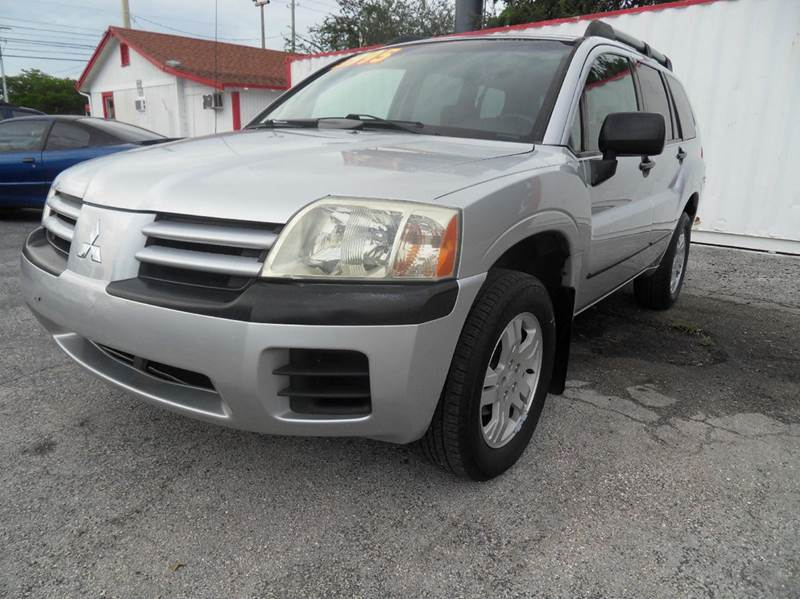 2005 MITSUBISHI ENDEAVOR LS 4DR SUV silver please call less than 6000 at 888-865-0893  have bad