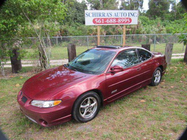 2000 PONTIAC GRAND PRIX GTP 2DR SUPERCHARGED COUPE maroon please call schirras auto at 866-383-7