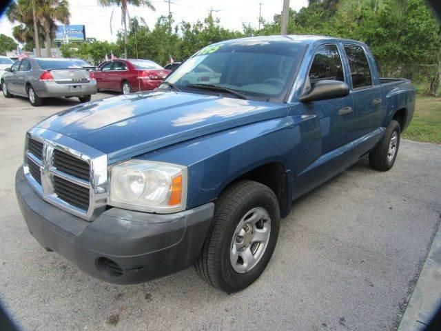 2005 DODGE DAKOTA ST 4DR QUAD CAB RWD SB blue please call less than 6000 at 888-865-0893  have