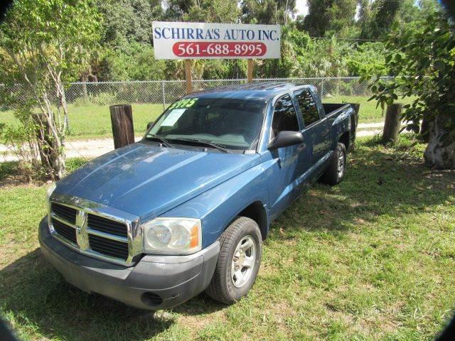 2005 DODGE DAKOTA ST 4DR QUAD CAB RWD SB blue please call schirras auto at 866-383-7643  have ba