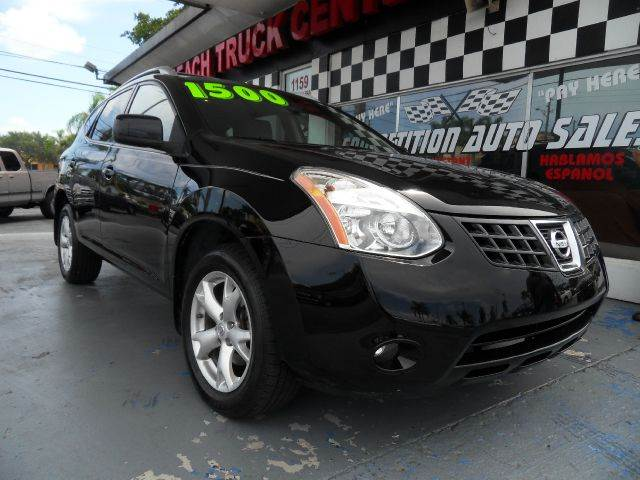 2009 NISSAN ROGUE S CROSSOVER 4DR black  please call competition auto at 888-865-0893  have bad