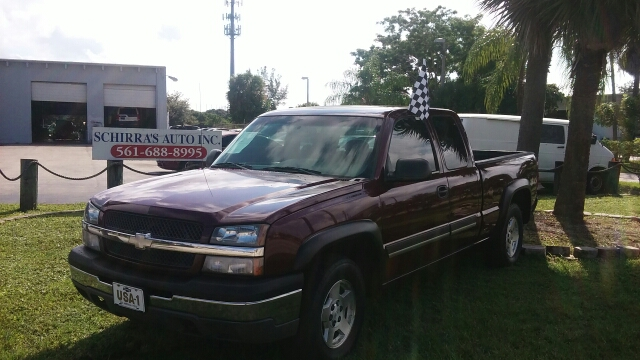 2003 CHEVROLET SILVERADO 1500 LS 4DR EXTENDED CAB 4WD SB maroon abs - 4-wheel anti-theft system