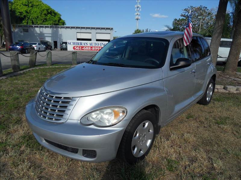 2007 CHRYSLER PT CRUISER TOURING 4DR WAGON silver please call schirras auto at 888-865-0893   h
