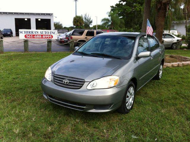 2004 TOYOTA COROLLA CE 4DR SEDAN gray please call competetion auto  888-865-0893 have bad cred