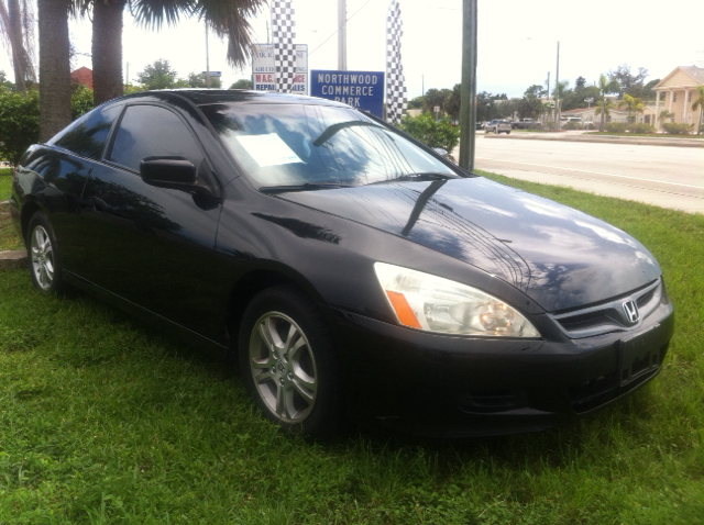 2006 HONDA ACCORD EX WLEATHER 2DR COUPE 5A WLEAT black abs - 4-wheel air filtration airbag de