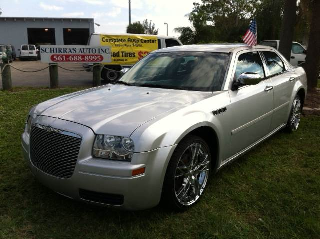 2005 CHRYSLER 300 BASE RWD 4DR SEDAN silver please call schirras auto at 888-865-0893   have ba