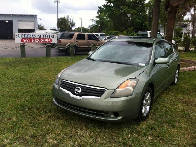 2007 NISSAN ALTIMA 25 S 4DR SEDAN 25L I4 CVT green please call schirras auto at 888-865-0893