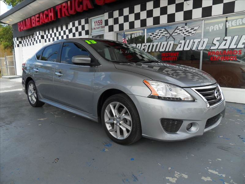 2013 NISSAN SENTRA SR 4DR SEDAN gray please call competition auto sales at 888-865-0893   have ba