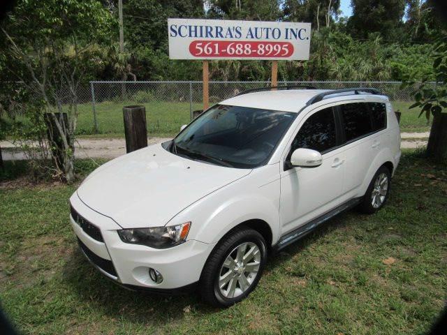 2010 MITSUBISHI OUTLANDER ES 4DR SUV pearl white please call schrras auto ii at 866-383-7643  hav
