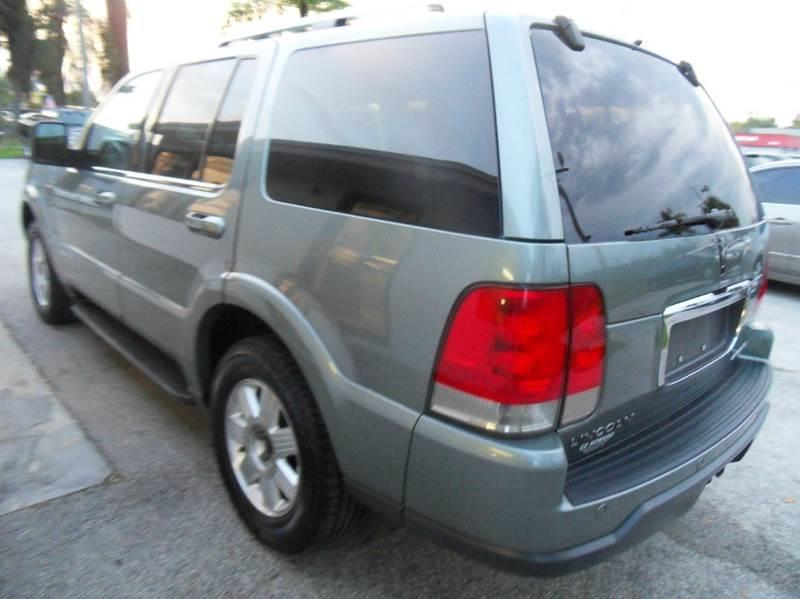 2005 LINCOLN AVIATOR LUXURY 4DR SUV green please call schirras auto at 888-865-0893 have bad cr