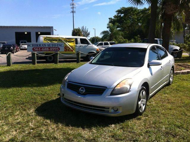 2007 NISSAN ALTIMA 25 S 4DR SEDAN 25L I4 CVT silver please call competition auto at 561- 964-