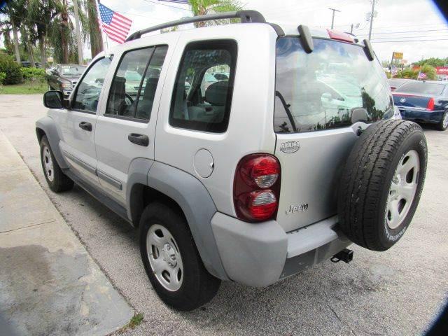 2005 JEEP LIBERTY SPORT 4DR SUV silver please call schirras auto at 866-383-7643  have bad credi