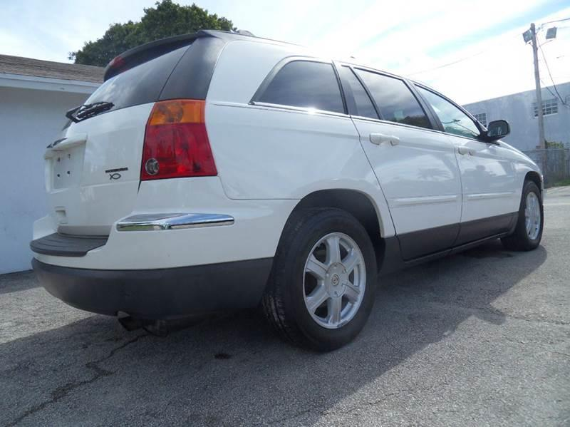 2004 CHRYSLER PACIFICA BASE AWD 4DR WAGON white please call schirras auto at 888-865-0893 have