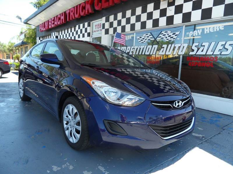 2012 HYUNDAI ELANTRA LIMITED 4DR SEDAN blue please call competition auto sales at 888-865-0893  h